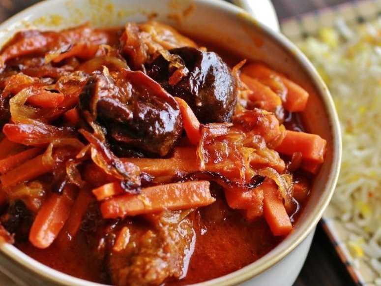 خورشت هویج (طرز تهیه)
